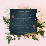 Faire part de mariage - Anouck Ferri