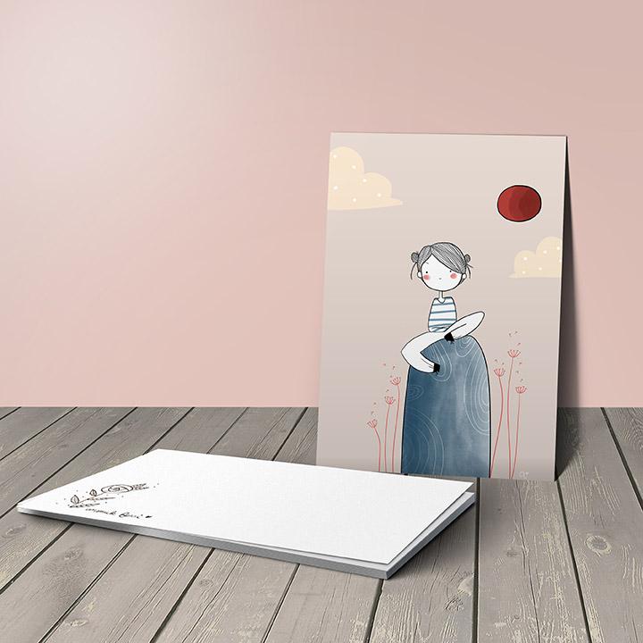 Carte postale - Anouck Ferri