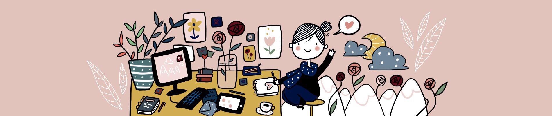 Illustration de la page A propos - Anouck Ferri