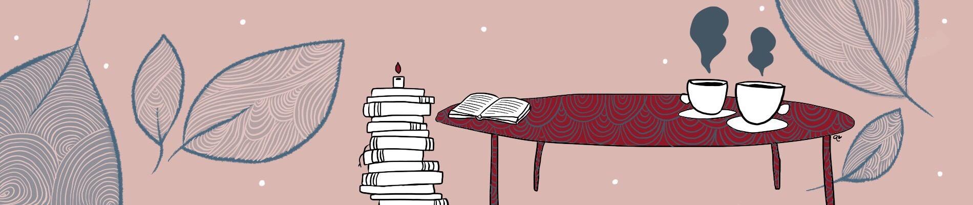 Illustration de la page des livres publiés - Anouck Ferri